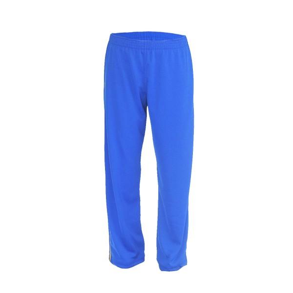 Calça de Poliéster - Sem Bolso - Azul Royal