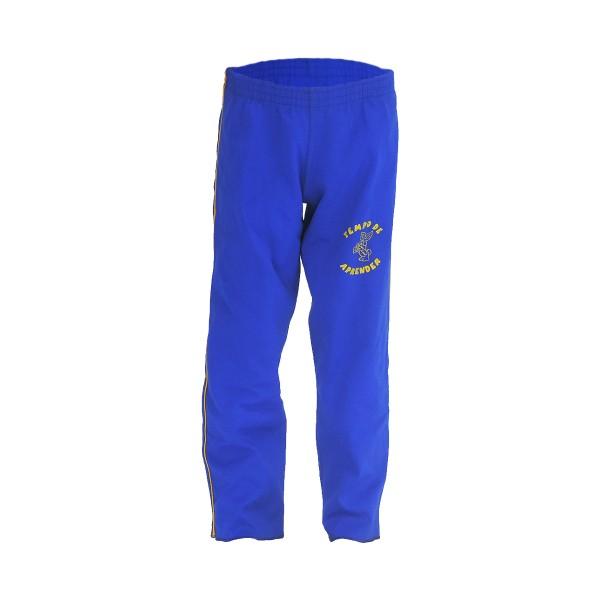 Calça de Poliamida - Sem Bolso - Azul Royal