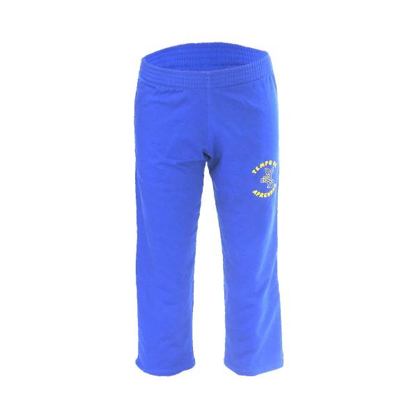 Calça de Moletom com Bolso Azul Royal
